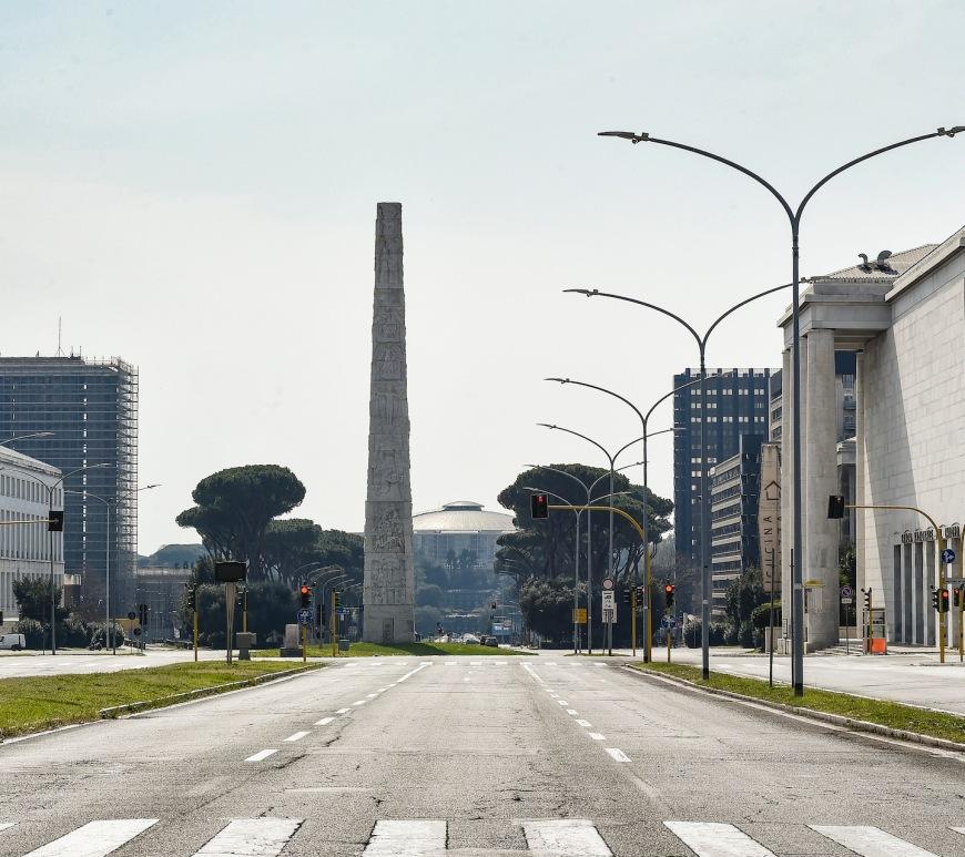Roma durante il lockdown (©Sara Minelli)