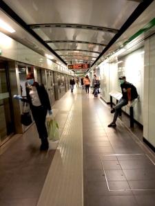 Metro C giorno 1 fase 2